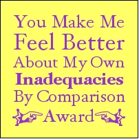 Inadequacies Award