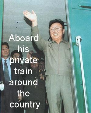 AboardHisPrivateTrain