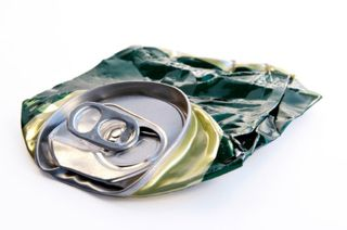 Crushed-beer-can