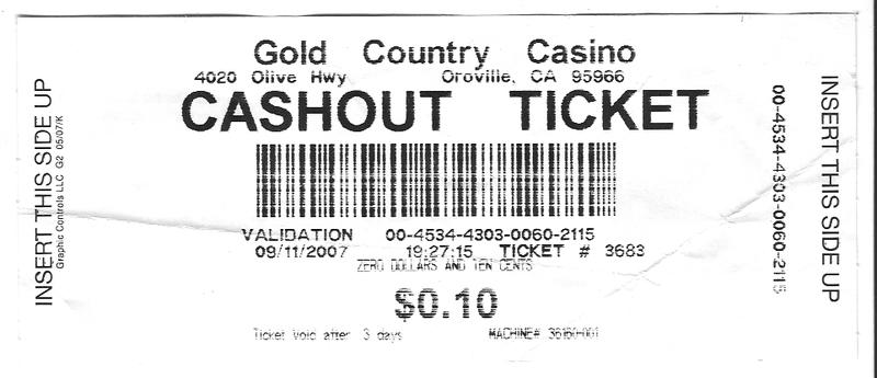 Cashoutticket