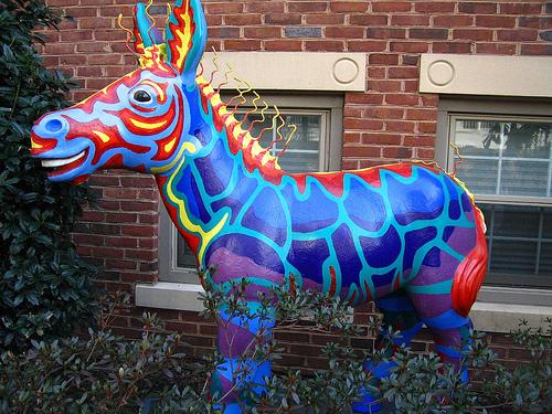 Painteddonkey
