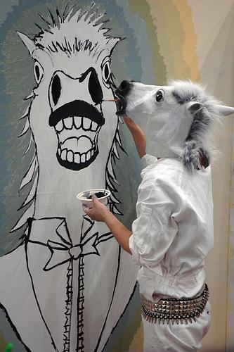 Donkeypaintingdonkey